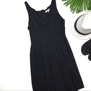 BB DAKOTA | sz 4 black The Terry draped dress